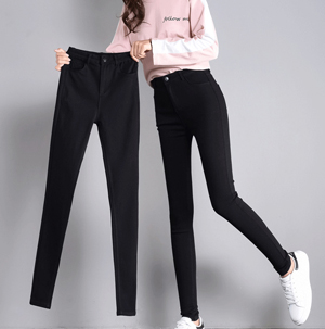 2018 stretch leggings high waist pencil pants
