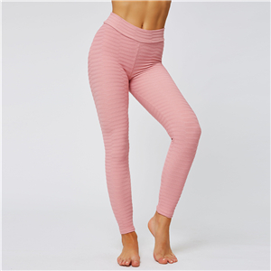 Wholesale solid color stretch tight yoga pants
