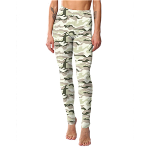 Wholesale camouflage printed yoga leggings
