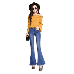 Wholesale-high-rise-stretch-cotton-denim-jeans