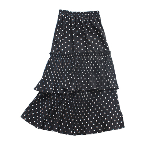 China cheap high waist wave chiffon cake skirt