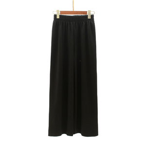 Wholesale high waist cotton cropped trousers