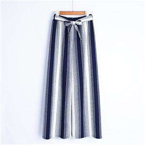 High waist cotton cheap wide leg pants