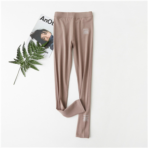Wholesale high waist cotton tight leggings