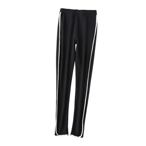 Wholesale high waist cotton edging leggings
