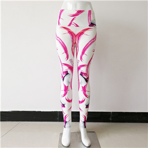 High waist printed yoga leggings cheap from China