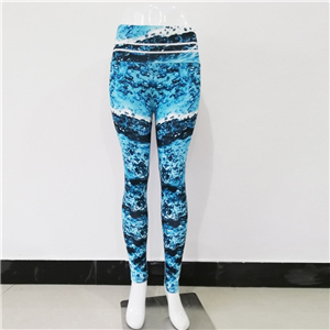 China wholesale high waist printed yoga leggings
