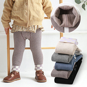 Camel wool leggings for men and women 1 to 3 years old