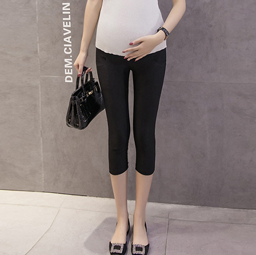 Thin pregnant women 7 points leggings