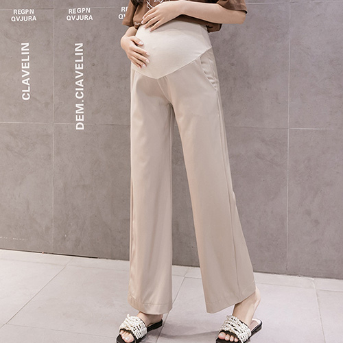Summer wide legs thin pregnant women leggings