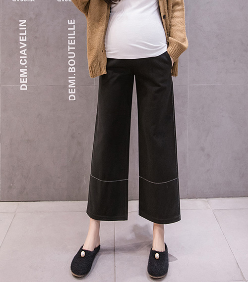 New fashion wide-leg maternity pants leggings