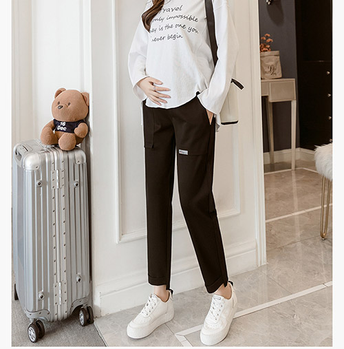 Casual comfortable maternity pants online store