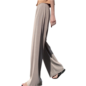 Wholesale high waist stretch straight pants