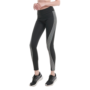 Wholesale high waist side laser slimming yoga leggings