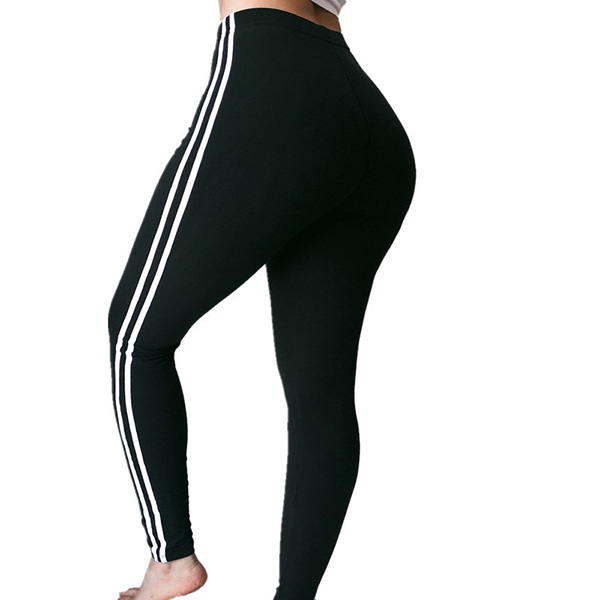 Sexy sports pants women stitching plus size leggings