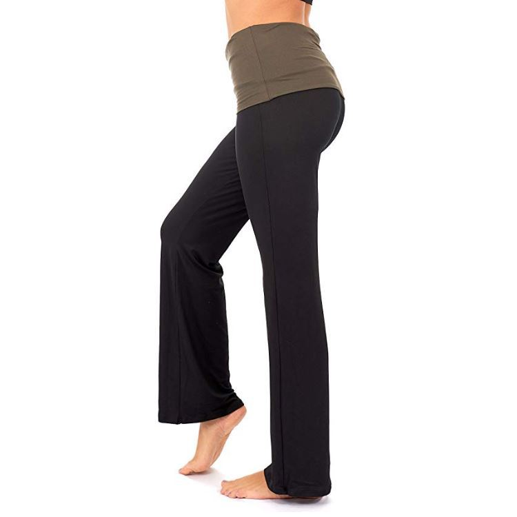 Woman horn fitness yoga pants high waist dance leggings