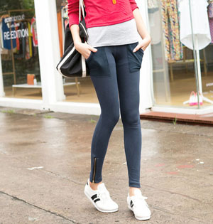 Wholesale spandex polyester leggings