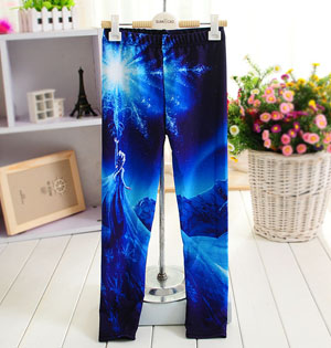 Children digital printing leggings wholesale