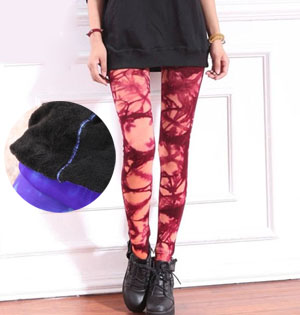 Tie dye nylon leggings wholesale