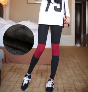 Velvet leggings as pants wholesale