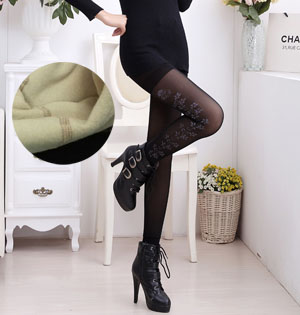 Thickened velvet comfortable warm leggings