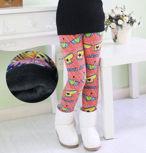 Kids stretch velvet legging wholesale