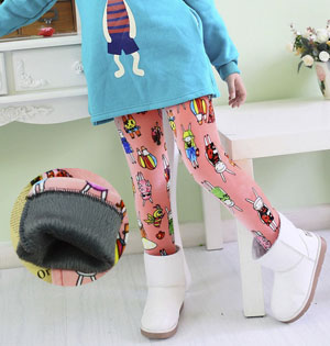Wholesale kids stretch skinny leggings