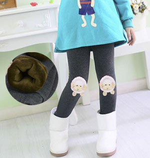 Wholesale kids winter warm leggings