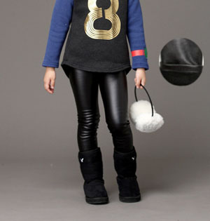 Wholesale leather leggings for kids