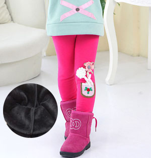 Kids fleece leggings for sale