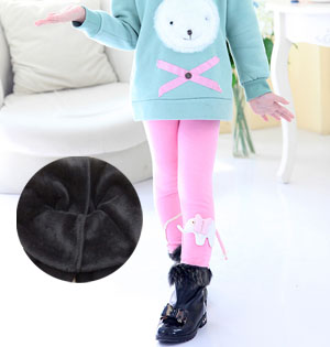 Kids velvet leggings wholesale