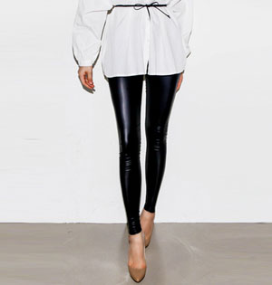 Womens leather leggings wholesale