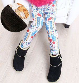 Wholesale fashion winter kids leggings