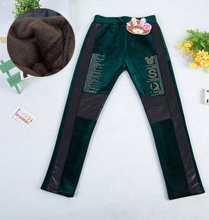 Wholesale kids leather leggings