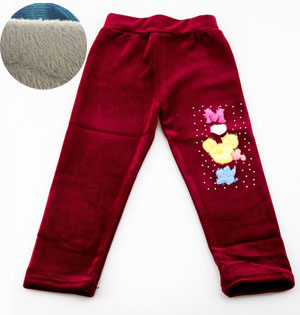 Kids warm pants wholesale