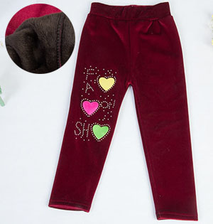 Warm kids winter pants wholesale