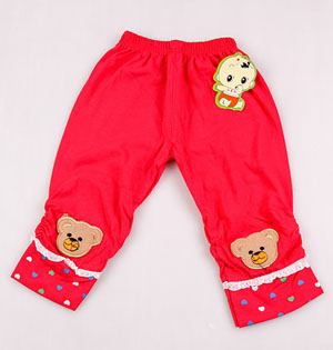 China kids leggings pants