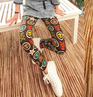 Knitted trousers leggings wholesale