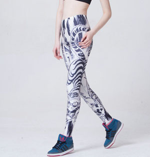 Galaxy leggings animal pattern