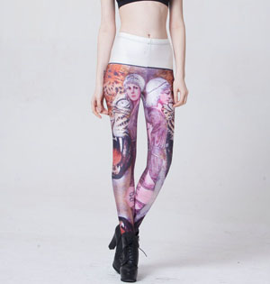 Women sexy digital leggings wholesale