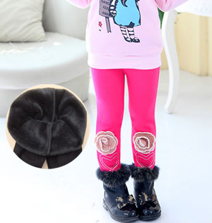 Kids warm winter leggings wholesale