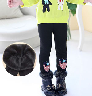 Kids leggings thick warm leggings