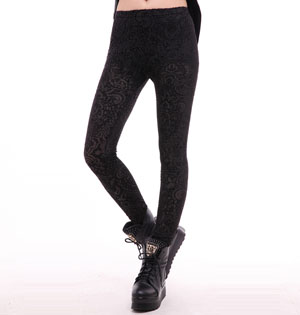 Wholesale pattern betsey johnson leggings