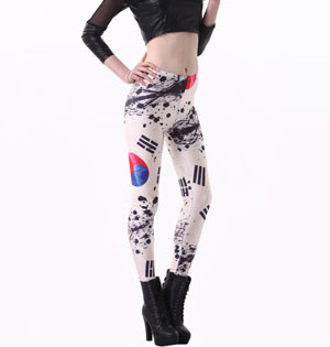 South Korean space leggings wholesale