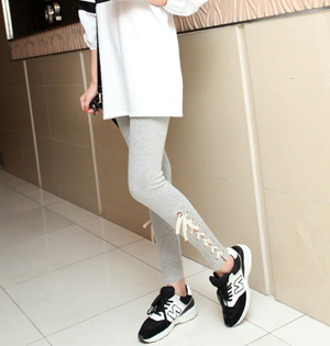 Cotton leg straps best leggings