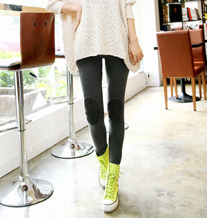 Korea plus velvet warm trendy leggings