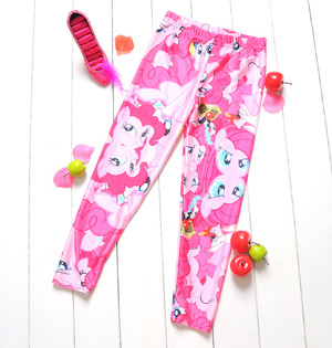 Kids leggings princess girls pants