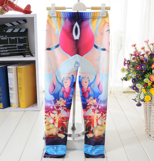 Princess series galaxy girls leggings
