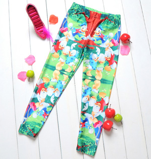 Children digital print leggings