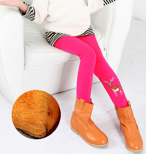 Wholesale kids plus velvet leggings